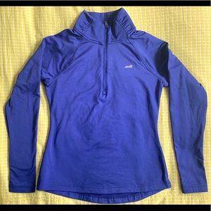 Avia athletic quarter zip top size small